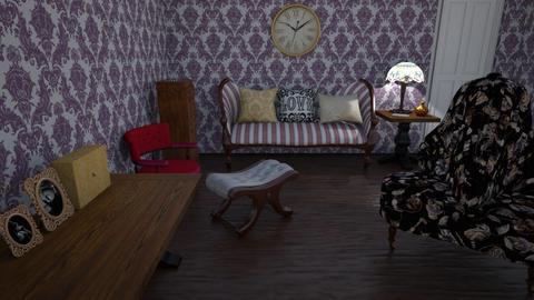 Edgy Victorian Living - Glamour - Living room  - by KajsaRain