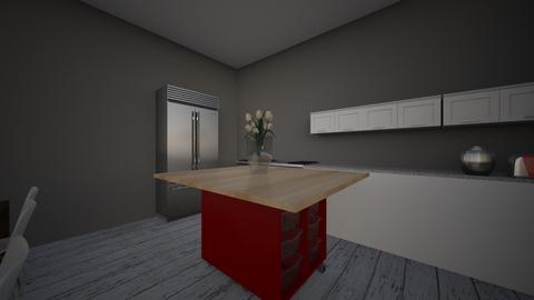 Farmhouse Kitchen - Modern - Kitchen  - by brayd22M