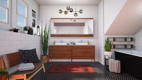 MidCentury Modern Bathroo - Bathroom - by smunro7