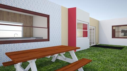 My Small L_Shaped Home - Classic - Garden  - by ropa