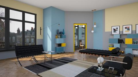 Bauhaus - Modern - Living room - by kitty