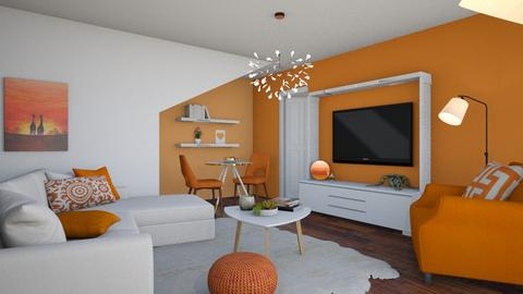 Orange Apartment - by chocolatedonut71