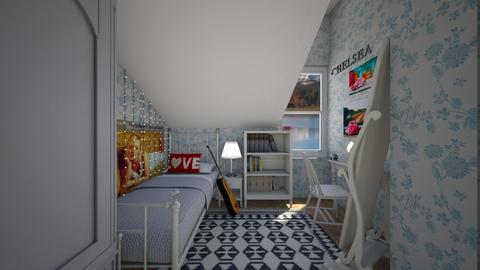 Farmhouse Bedroom 2 - Bedroom  - by SammyJPili