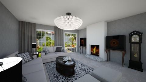 cheryl house - Modern - Living room  - by Mi Wei