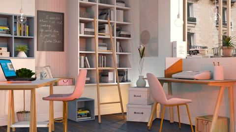 Modern Playful Office - Office - by Sally Simpson