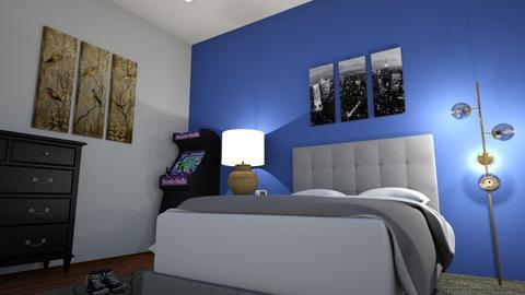 Mi habitacion - Bedroom  - by gvazquez_