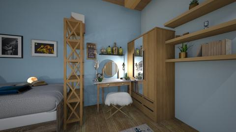 Rons and Olivias room - by Anna Shubina