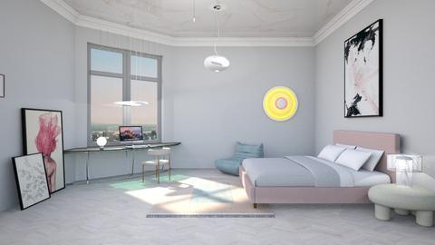 Soft - Feminine - Bedroom  - by tolo13lolo