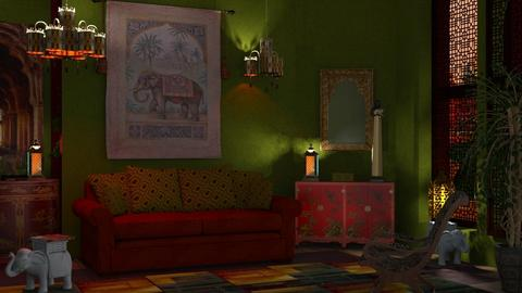 M_Living in India colours - Living room  - by milyca8