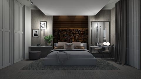 hotelroom - Modern - Bedroom - by esmeegroothuizen