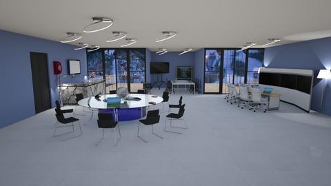 oficina - Modern - Office  - by kellynazha