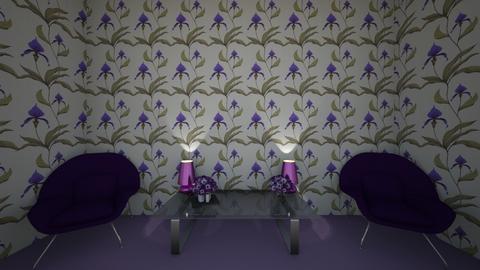 violet - Living room  - by addyrhy
