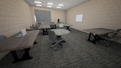 Project Pic Classroom - Office  - by ErykSchool