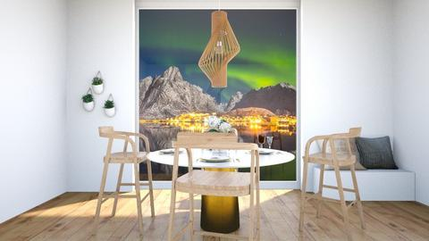 Scandinavian dining room - Dining room  - by ATHENANn