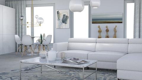 Clear - Minimal - Living room  - by HenkRetro1960