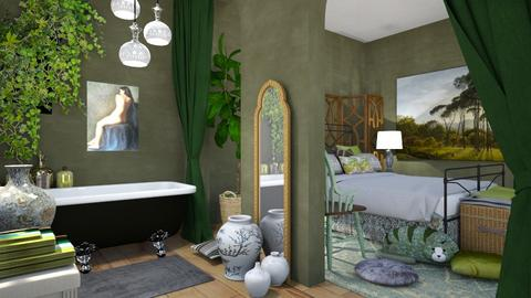 Emerald - Bedroom - by chania