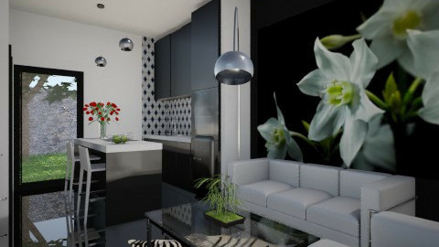 For Marinella82 3 - Eclectic - Living room - by Theadora