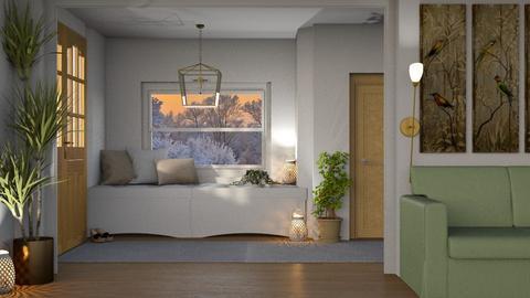 nude hallway - by aggelidi 12312