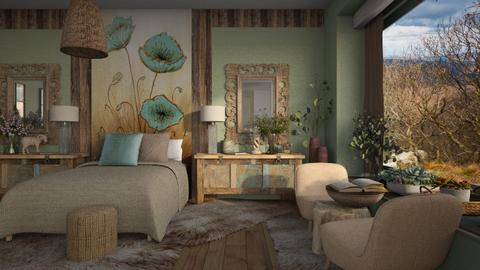 A P B R - Vintage - Bedroom  - by ZsuzsannaCs
