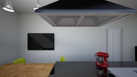 Koken bij tafel - Retro - Kitchen - by VincentBreda
