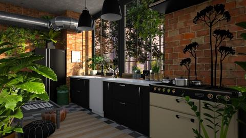 attitude - Modern - Kitchen  - by jjannnii