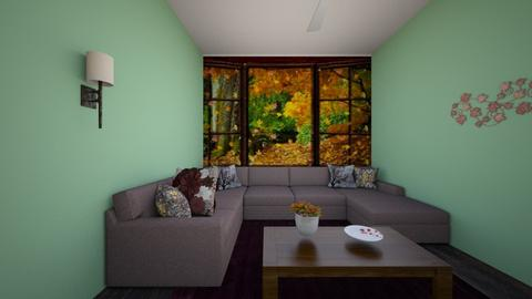 fall living room  - by Dogo