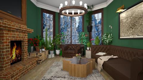 dfgdf - Retro - Living room  - by snezzza