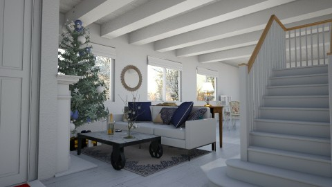 Minimalistic Christmas - Minimal - Living room - by Brubs Schmitt