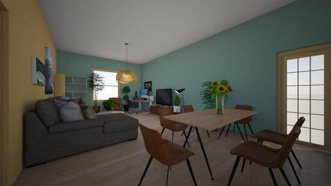 scandinavian livdinkit - Living room  - by damita2021