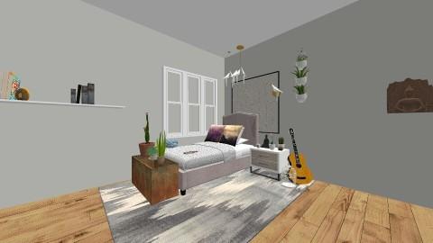 Down To Earth - Bedroom - by httphursh