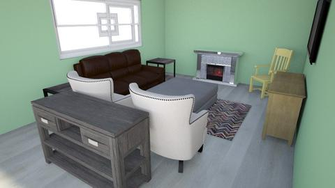 living room recliner - Living room  - by shell367