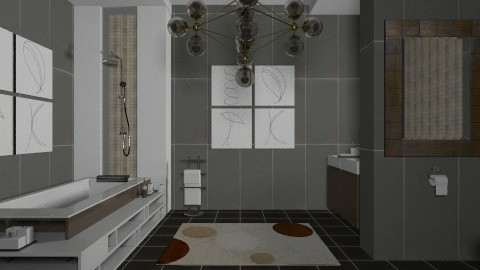 bathroom - Bathroom  - by Antoaneta Hristova