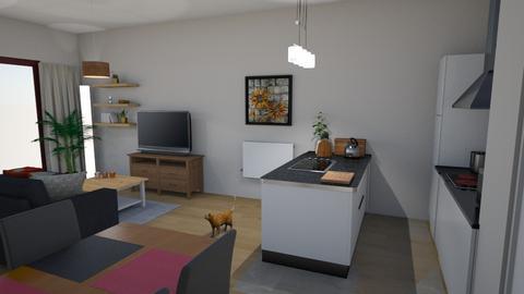 Living Katrien 3 - Living room  - by Els Rommens
