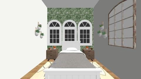 Attic Bedroom 2 - Bedroom  - by Zipintomyheart