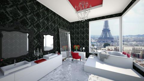 glamorous bathroom - Glamour - Bathroom  - by Ali Ruth