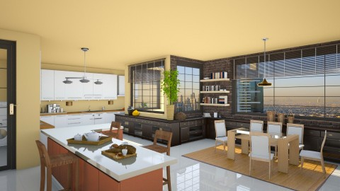 Temperance Brennan - Eclectic - Kitchen - by deleted_1524667005_Elena68