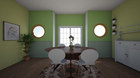 Circle Room - by delaneeg7