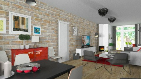 woonkamer living - Modern - Living room  - by Thrud45