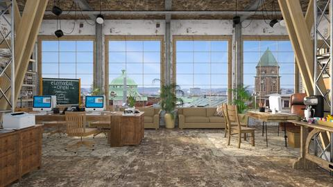 Design 470 Old Factory Office - Office - by Daisy320