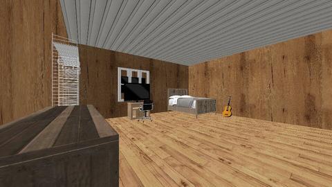 Christopher Becker - Bedroom  - by portillo