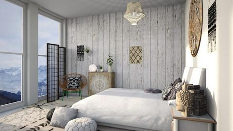 Bohemian Design   - Eclectic - Bedroom  - by Yate