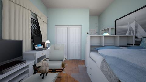 My new room - Classic - Bedroom  - by heatherpc