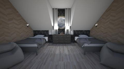 Attic room for 2 - Bedroom  - by Hamzah luvs cats