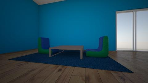 mazra3a room seating area - Kids room  - by Yaso Hinnawi