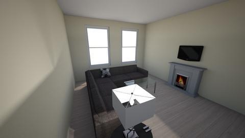 Urban modern living room - Modern - Living room  - by Pizzahomestyler