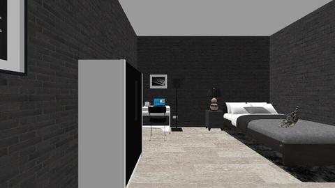 Technology work - Modern - Bedroom  - by deafe