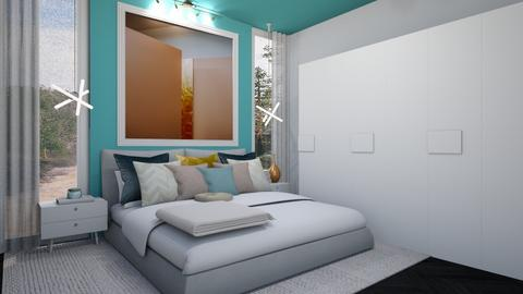 Turquoise Room - Bedroom - by igell90