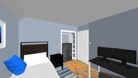 My room v4 2 - Bedroom  - by MichaelWolf95