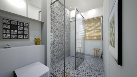 SHOWER ROOM - Minimal - Bathroom  - by P5