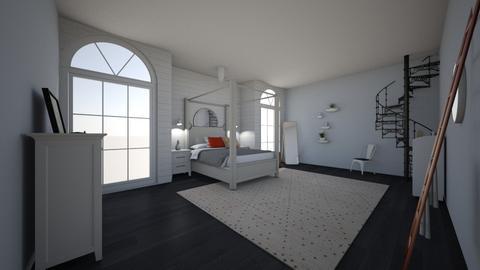 room - Modern - Bedroom - by kaleighsksk